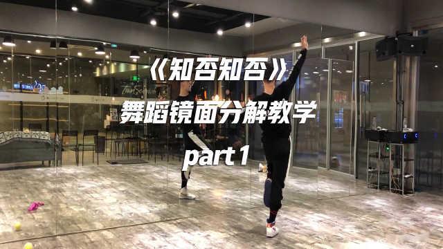 白小白编舞《知否知否》舞蹈教学p1