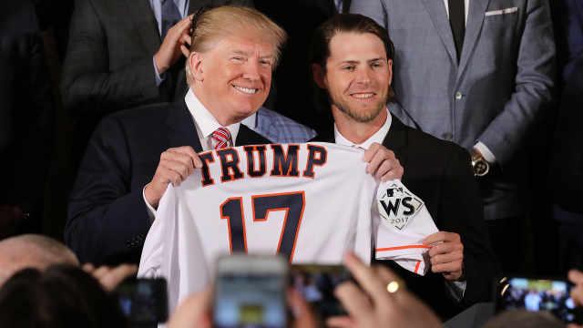 不受待见?美职棒球星拒川普邀请