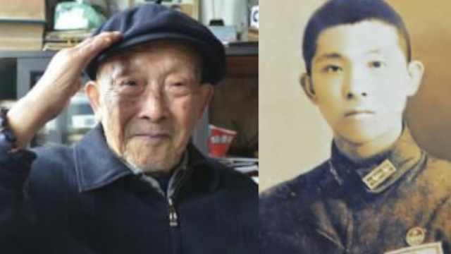 96岁老兵黄开仁辞世,曾参加大阅兵