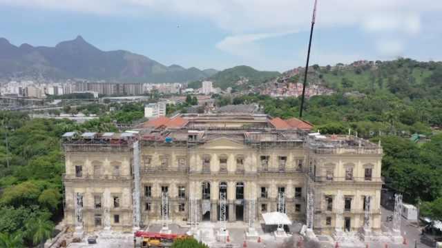 还剩10%:巴西国博大火后首次开放