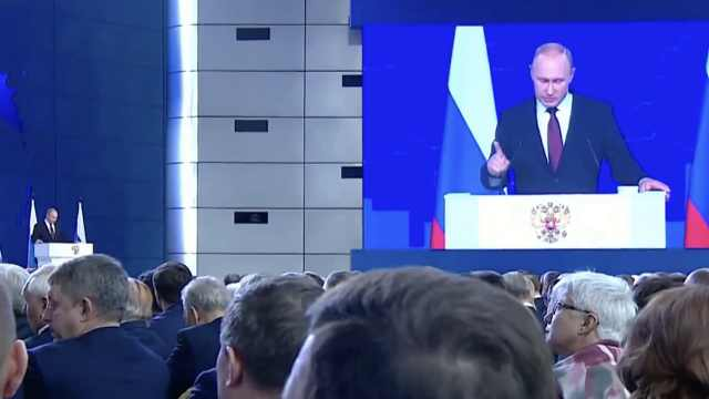 普京放狠话:俄导弹或将瞄准美国