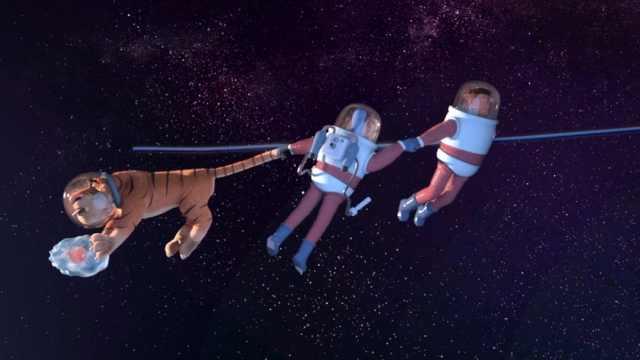 原始世界遇上未来科技,宇宙真浪漫