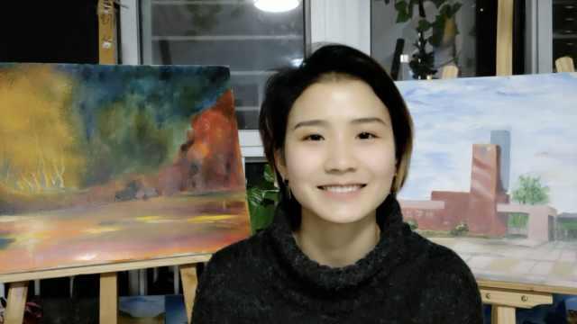 大三金融女开绘画室,1幅画卖3千元