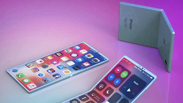 韩媒:苹果考虑折叠手机,最快2020年