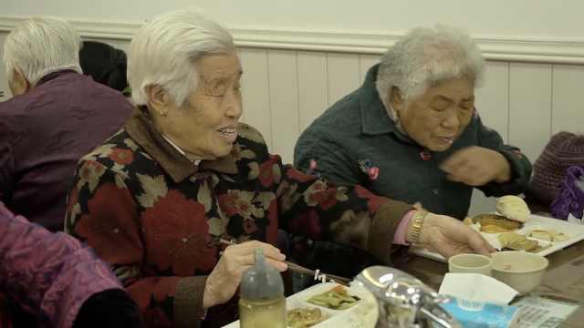 这家素食馆全年无休,7旬老人免费吃
