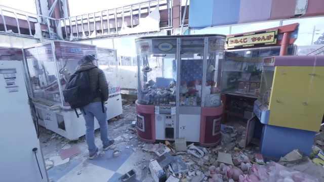 安静的死城:探险家深入福岛核废墟