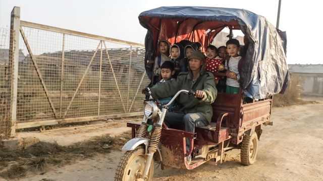实拍缅北孤儿,每天生活费不到5元