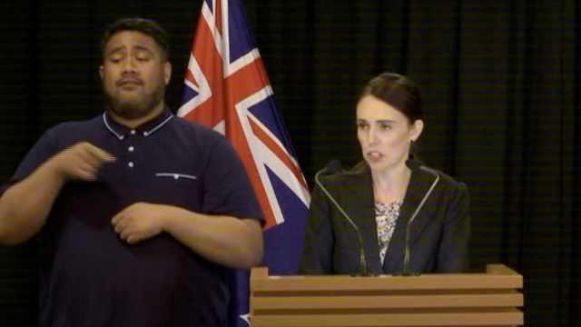 新西兰总理:禁所有军用半自动枪械