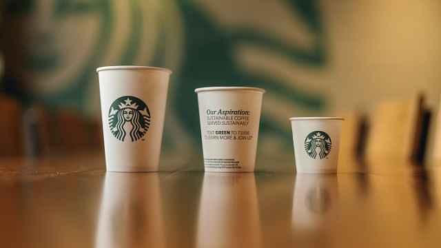 星巴克试验可回收和可堆肥型纸杯