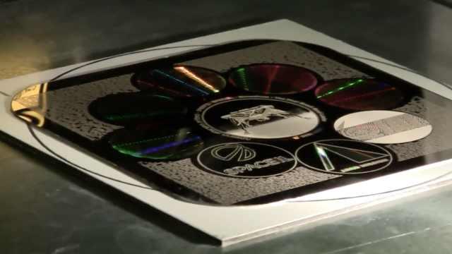 以色列登月器携金光碟,堪比图书馆