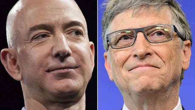 全球第二人!盖茨资产过千亿美元