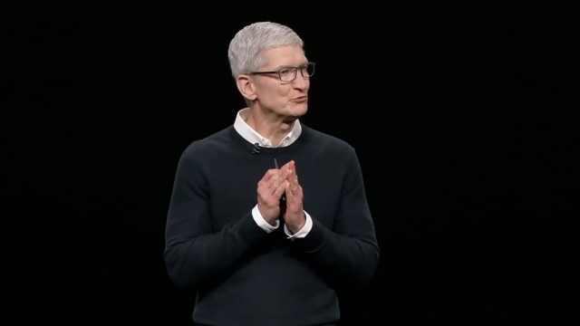 发布会毫无硬件,苹果股价一路跌