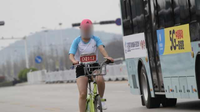 马拉松赛女选手骑单车,遭终身禁赛
