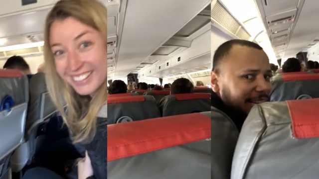 飞错目的地客机舱内画面曝光:欢乐