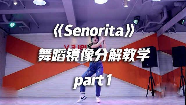 《Senorita》舞蹈镜像分解教学p1