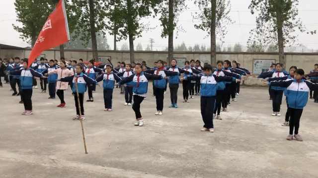 洋气!农村小学120学生课间跳拉丁舞