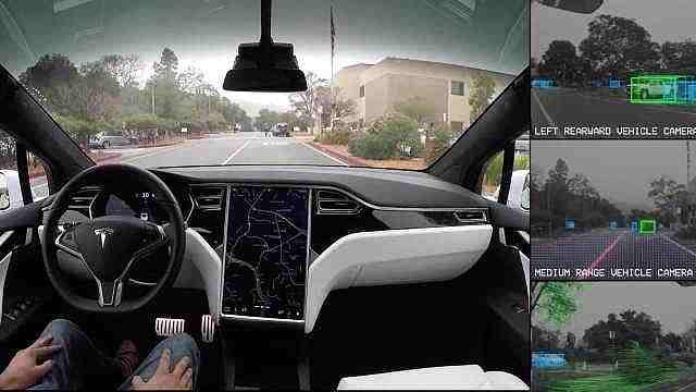 """特斯拉发布""""全自动驾驶""""视频"""