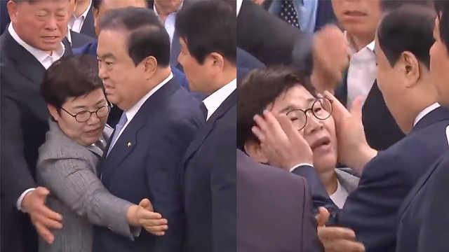 韩议长涉性骚扰,同僚:以为她是男的