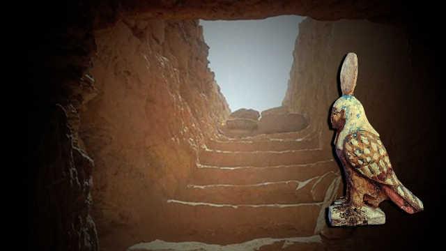直播:探秘!埃及新发现4400年前古墓