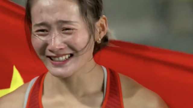 田径接力世锦赛,中国队首夺银牌