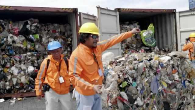 加拿大逾期未取垃圾,菲召回外交官