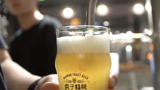 销售总监爱喝酒,开店做精酿啤酒