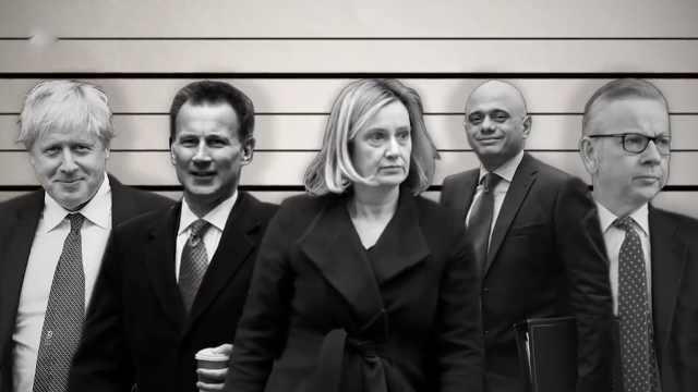 梅姨辞职后,他们是英国新首相人选