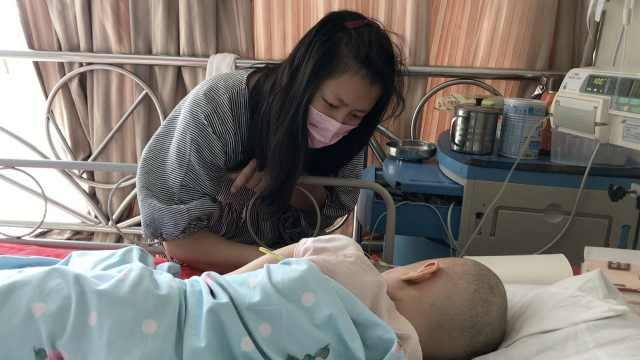 8岁女孩患白血病,继父倾家荡产治