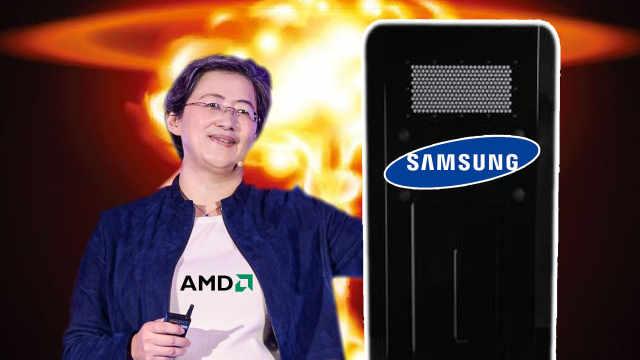 AMD与三星达成授权协议