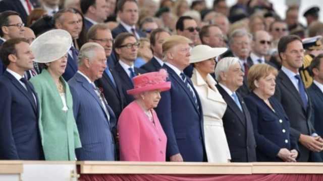 2分钟看诺曼底登陆75周年庆典亮点