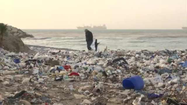 日本一年6万吨塑料垃圾漂向太平洋