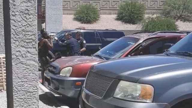 因一个洋娃娃,美国警察对孕妇拔枪