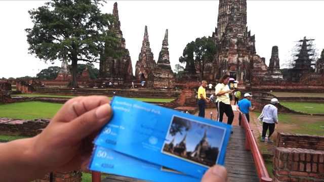 泰国著名景点,门票只要10元人民币
