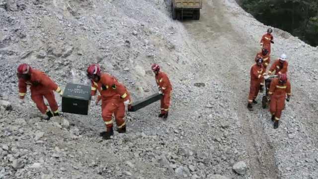 陕西宁强发生山体坍塌,5人遇难