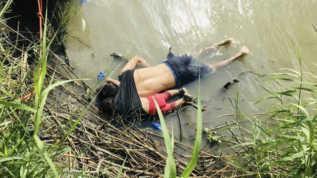 悲!看到美墨边境这对难民父女尸体