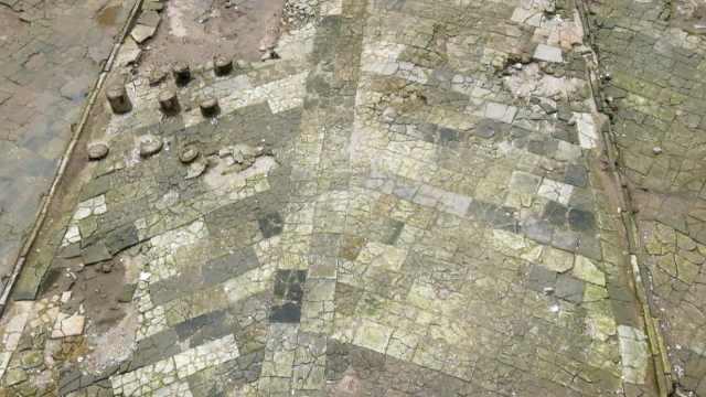 南汉地砖现场曝光:呈