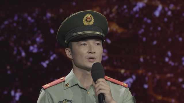 他承父遗志从军入伍,释放青春活力