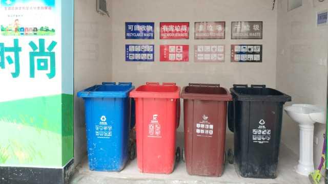 垃圾分类实施,6月垃圾桶卖300万件