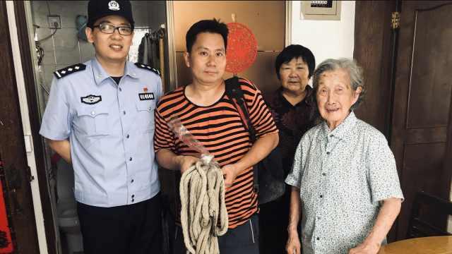 77岁儿子被101岁母亲骂到报警,为啥