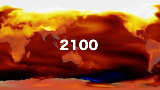 日本预测百年后天气,冬天都中暑