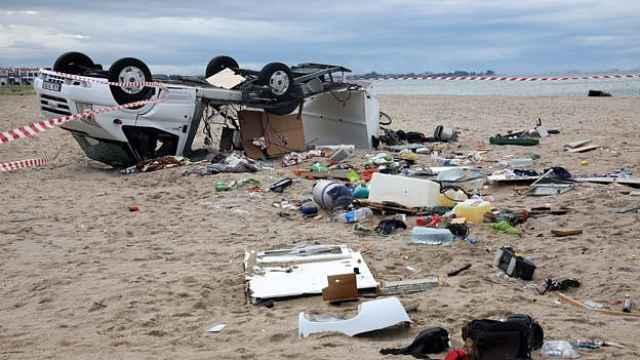 冰雹风暴袭击希腊,已6名游客丧生