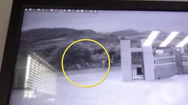 杭州女童失联前最后监控视频曝光