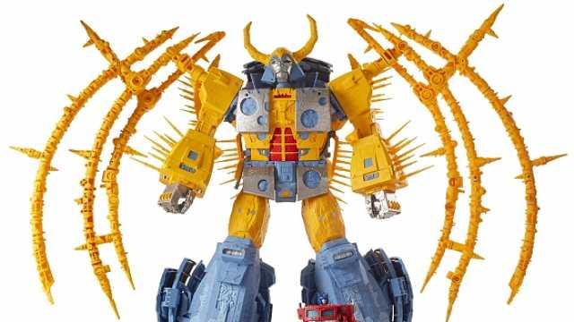 玩具公司发布史上最大变形金刚模型