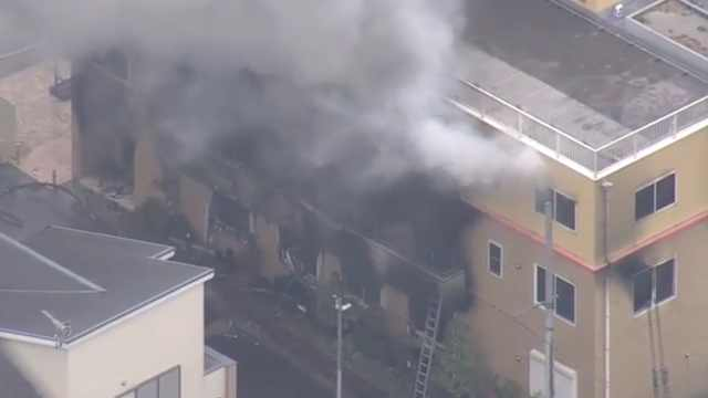 日本京都发生爆炸,30多人受伤