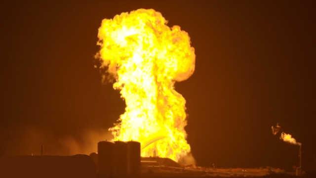 SpaceX星际飞船测试时爆炸起火!