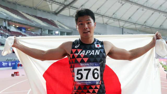 9秒98!日本选手百米再破10秒大关