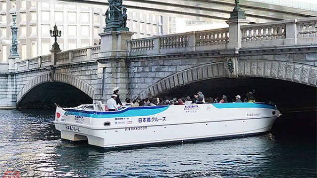 奥运堵!日本东京都试行坐船上下班