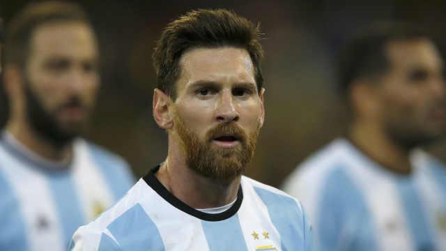 炮轰南美足协,梅西被禁赛三个月