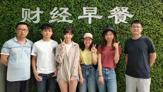香港学生:上海的绿化令人忘记烦恼