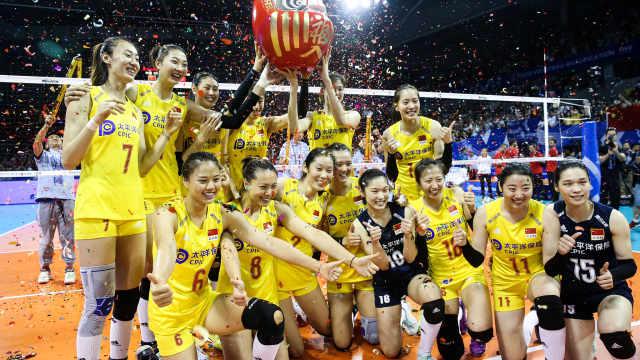 横扫土耳其!中国女排锁定奥运资格